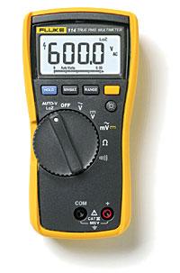 Fluke 114电气测量万用表