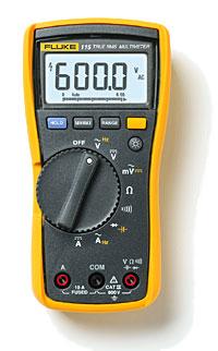 Fluke 115C现场维护技术人员用万用表
