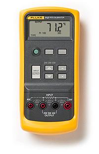 Fluke 712 铂电阻(RTD)过程校准器